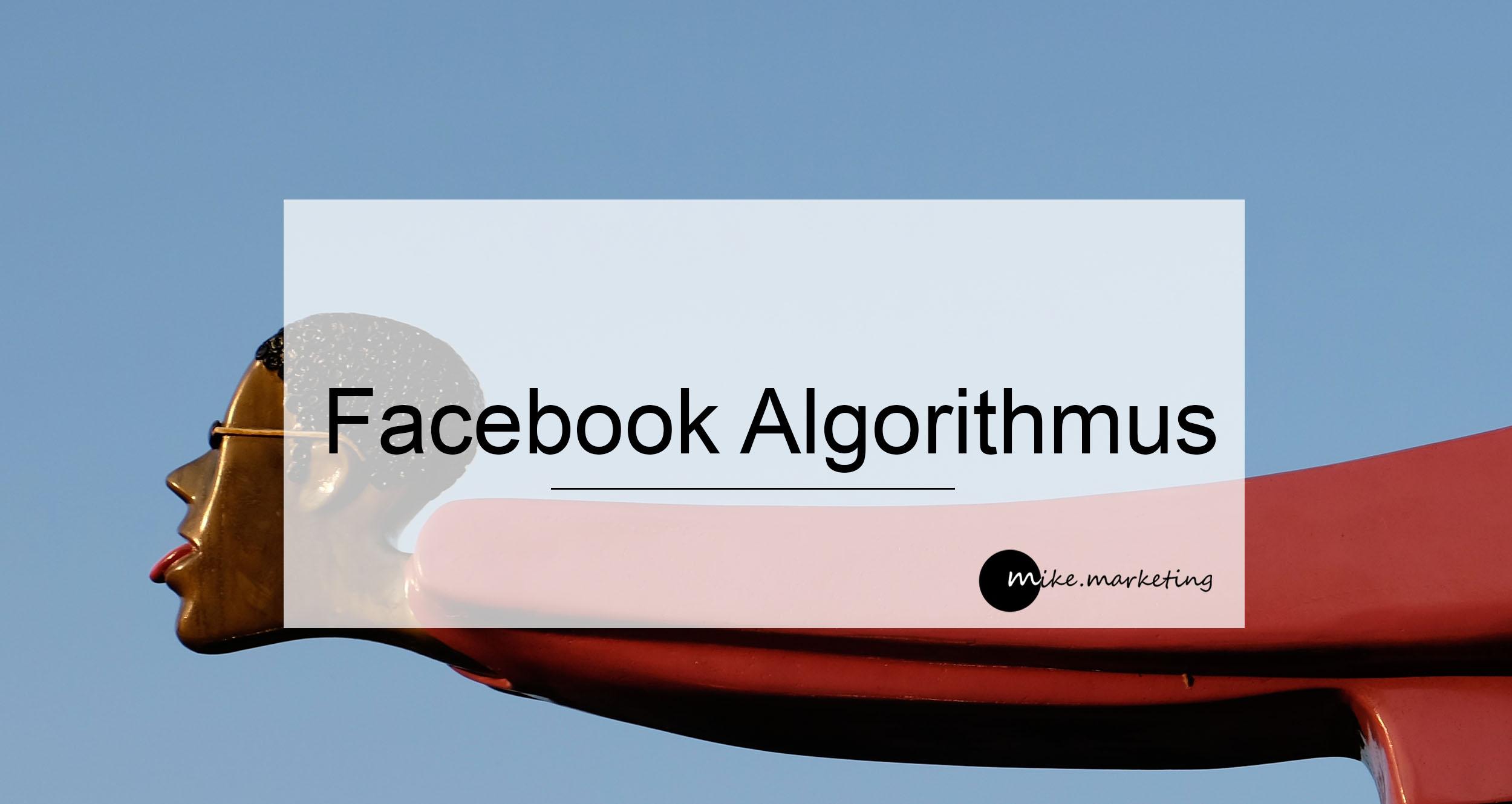 Foto Facebook Algorithmus