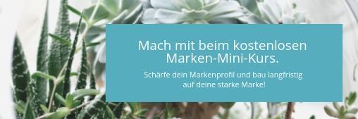Marken-Mini-Kurs yesss